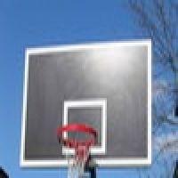 Щиты баскетбольные на стальных рамах с металлическим обрамлением